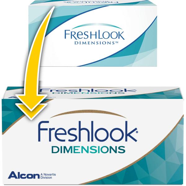 Фото FreshLook Dimensions (без диоптрий)